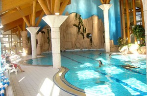 Le Centre SPA de la station avec sa grande piscine